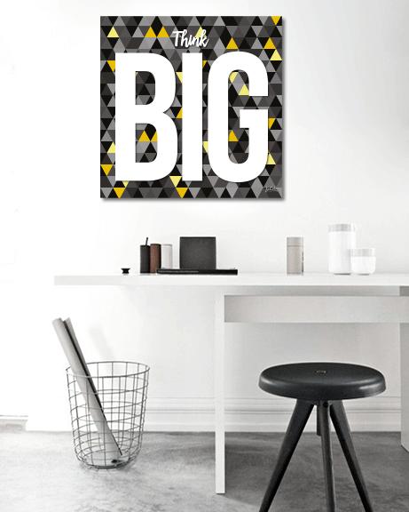 Think Big (Quadrado)