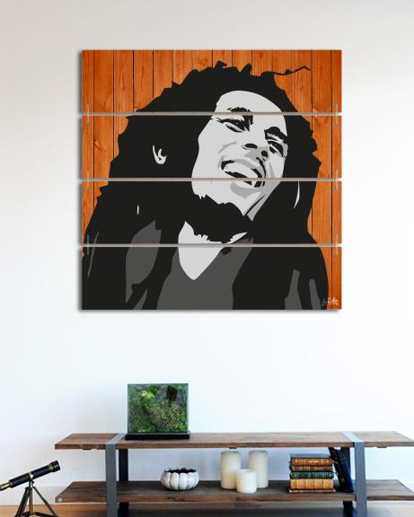 Bob Marley (Canvas)