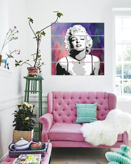 Marilyn Monroe (Canvas)