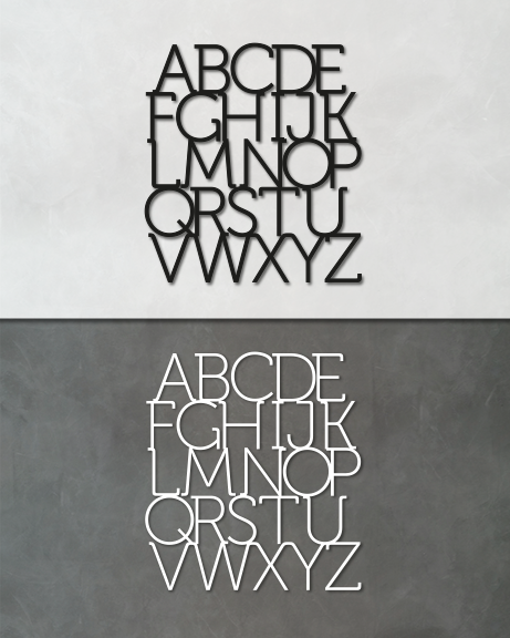 Abecedário (lettering)