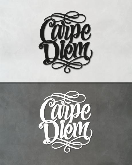Carpe diem (lettering)