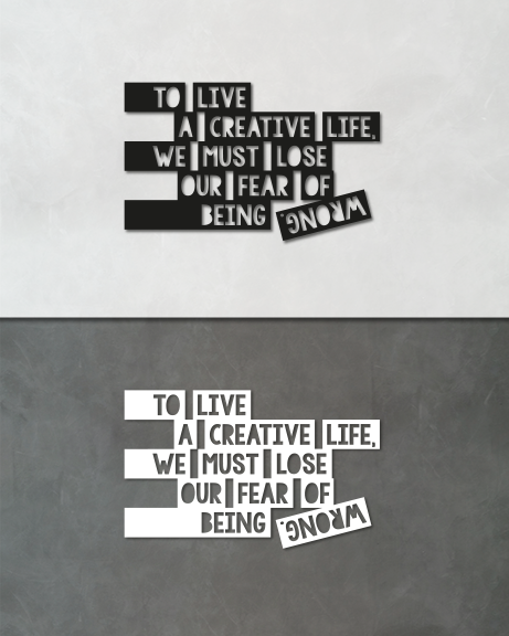 Creative Life (lettering)