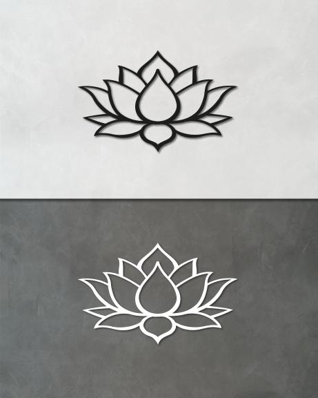 Flor de lótus (lettering)