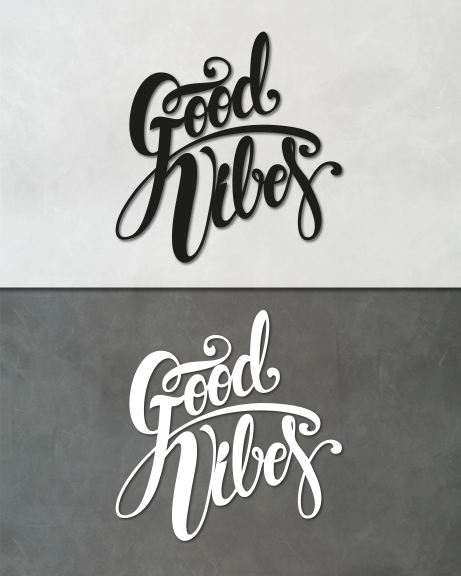 Good Vibes (lettering)