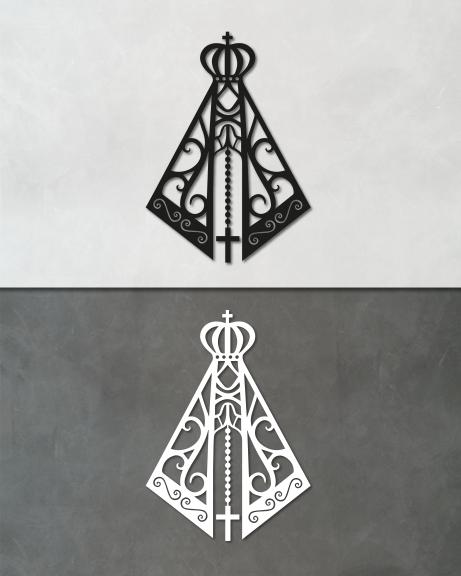 Nossa Senhora (lettering)