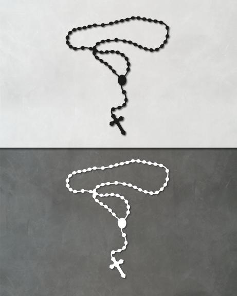 Terço – Escapulário (lettering)