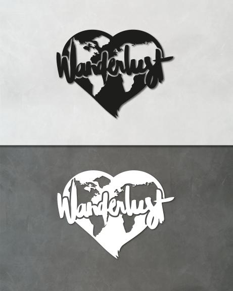 Wanderlust (lettering)
