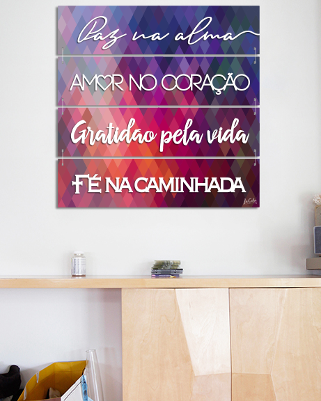 Paz na alma (Canvas)