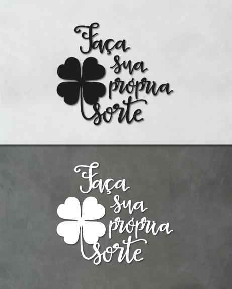 Faça sua própria sorte (lettering)